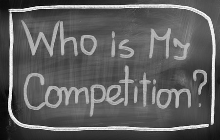 Who Is My Competition Concept photo
