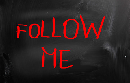 follow me: Follow Me Concept
