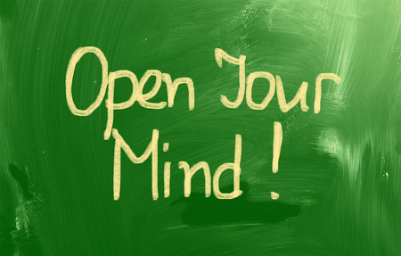 receptive: Open Your Mind Concept