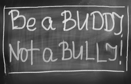 buddy: Be A Buddy Not A Bully Concept Stock Photo