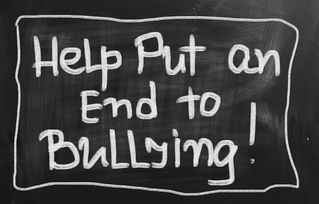 Help Put An End To Bullying Concept photo