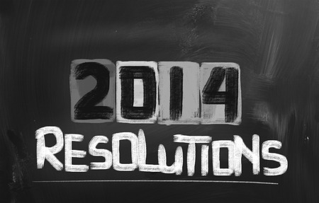 2014 Resolutions Concept photo