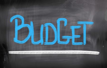 money matters: Budget Concept