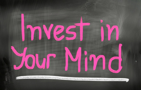 Invest In Your Mind Concept photo