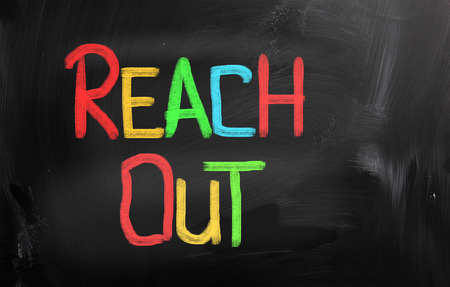Reach Out Concept Stock Photo - 26371452