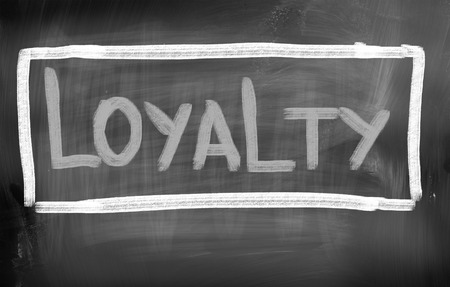 jargon: Loyalty Concept Stock Photo