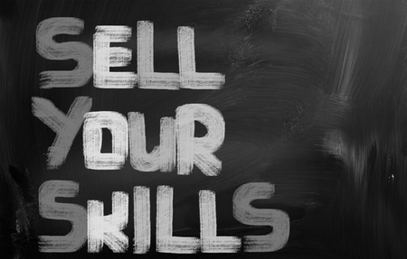 Sell Your Skills Concept photo