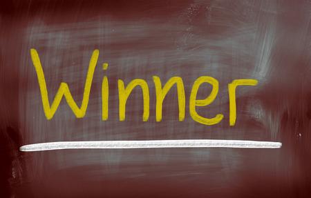 innovator: Winner Concept Stock Photo