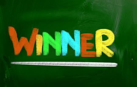jargon: Winner Concept Stock Photo