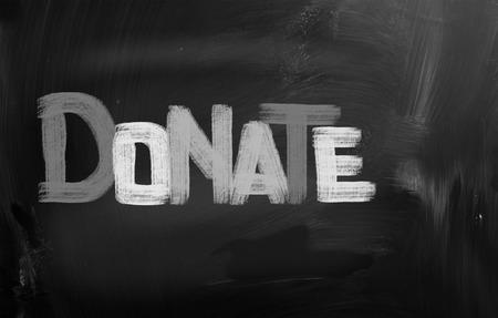 Donate Concept photo