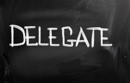 delegar: Delegado Concept