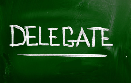 delegar: Delegado Concepto