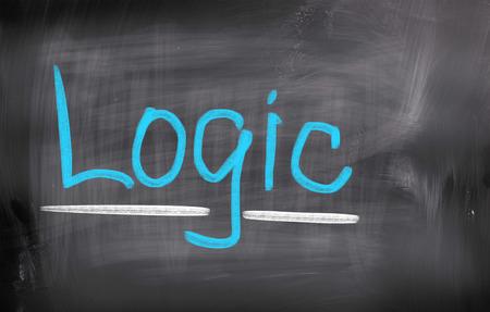 logic: Logic Concept Stock Photo