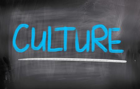 Culture Concep Stock Photo