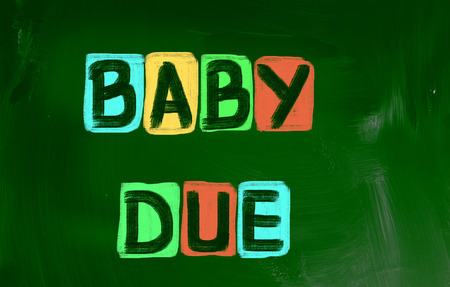 Baby Due Concept photo