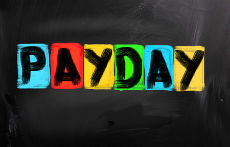 Payday Concept Stock Photo - 26663393