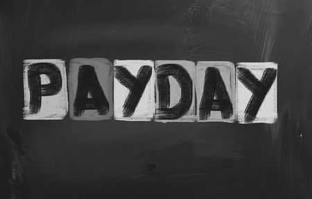 Payday Concept Stock Photo - 26663395