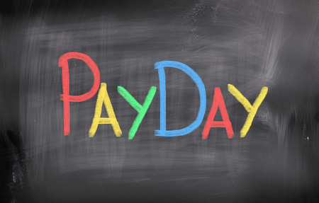 Payday Concept Stock Photo - 26663400