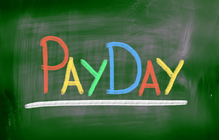 Payday Concept Stock Photo - 26663403