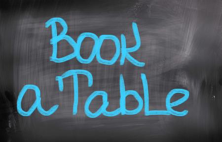 concep: Book A Table Concep