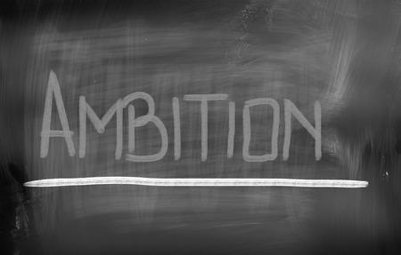 trait: Ambition Concept