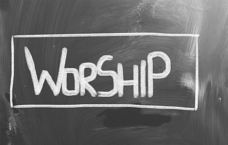 Worship Concept photo