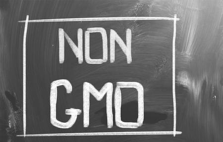 No GMO Concept photo
