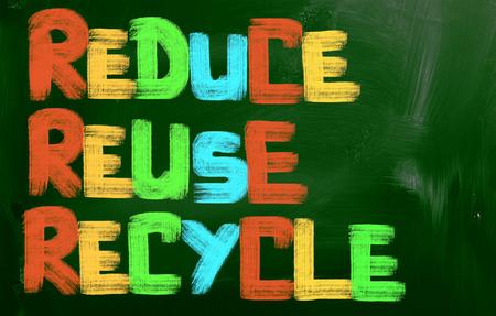 reduce reutiliza recicla: Reducir Reutilizar Reciclar Concept
