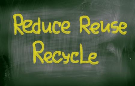 reduce reutiliza recicla: Reduzca la reutilizaci�n reciclan Concept Foto de archivo