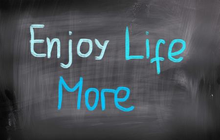 mindful: Enjoy Life More Concept