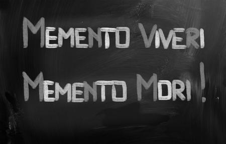 mori: Memento Viveri Memento Mori Concept