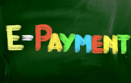 epayment: Online Payment Concept Stock Photo