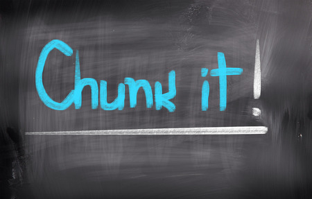 chunk: Chunk It Concept