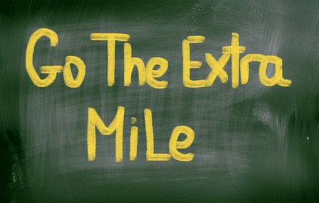 mile: Go The Extra Mile Concept