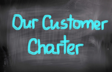 Our Customer Charter Concept photo