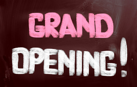 grand opening: Grand Opening Concept