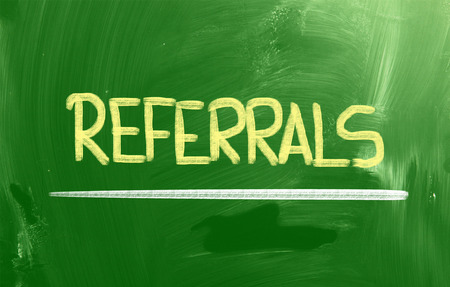 Referrals Concept photo