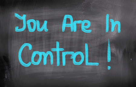Usted Está En Control Concept