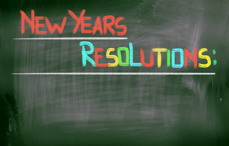 New Years Resolutions Concept photo