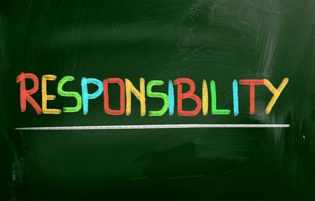 valores morales: Concepto de Responsabilidad