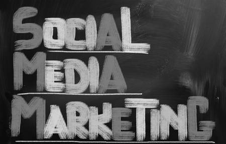 wikis: Social Media Marketing Concept Stock Photo