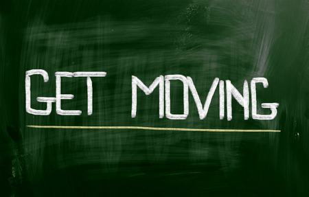 Get Moving Concept Stock Photo
