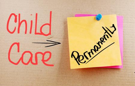 Permanent: Child Care permanent woorden