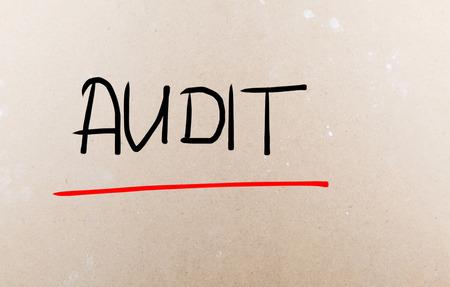 Audit word photo