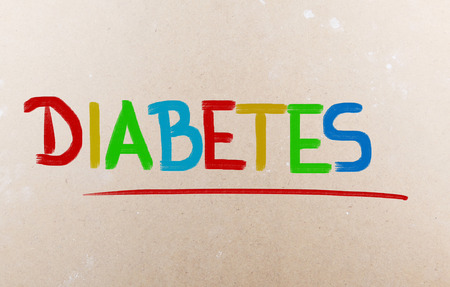 Diabetes word photo