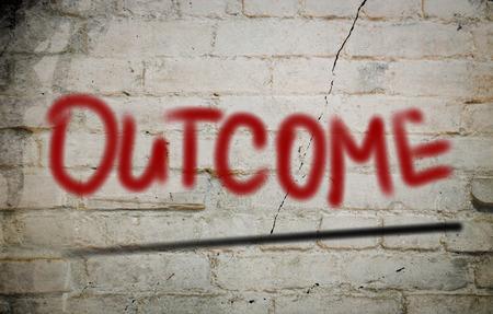 Outcome Concept photo