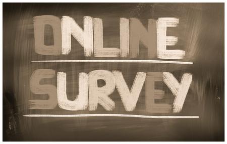 online survey: Online Survey Concept