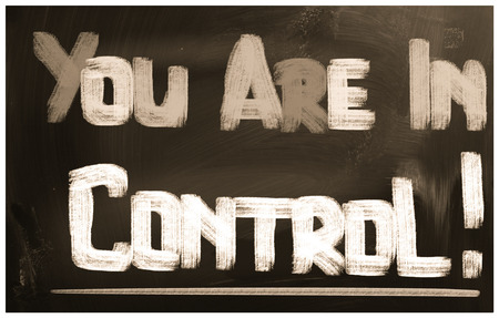 assert: You Are In Control Concept