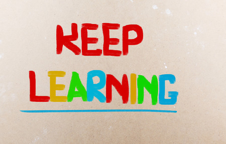 Keep Learning Concept photo
