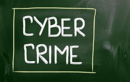 computer security: Cyber Crime Concept